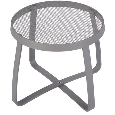 Maze Lounge Side Table Finish: Titanium silver