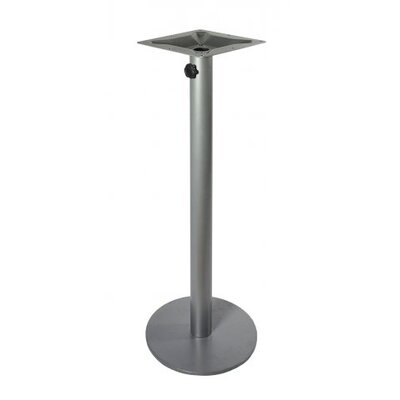 Margate Table Base Color: Silver Mist