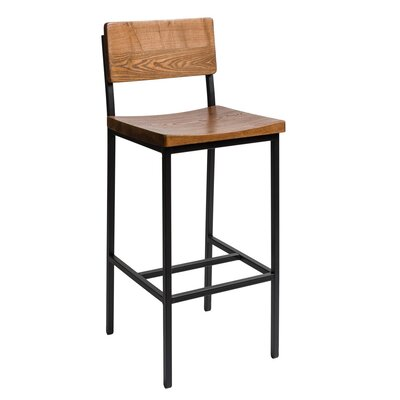 Memphis 30.25 Bar Stool Color: Autumn/Rustic