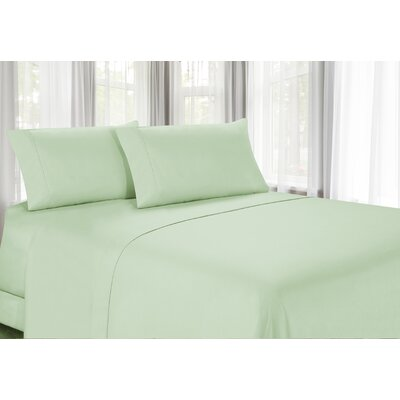100% Egyptian Quality Cotton Sheet Set Color: Mint