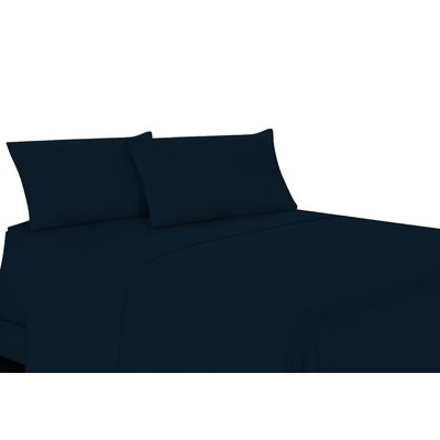 100% Egyptian Quality Cotton Sheet Set Color: Navy