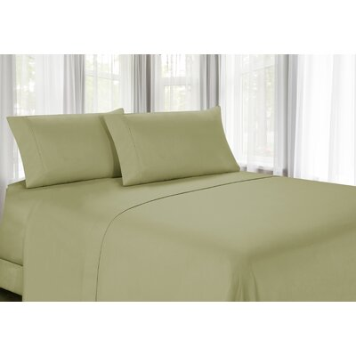 100% Egyptian Quality Cotton Sheet Set Color: Sage