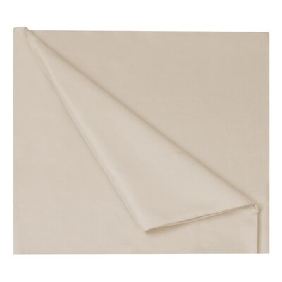 Gobert Flannel Sheet Set Color: Stone, Size: King