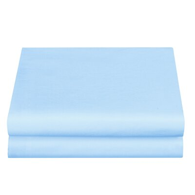 Clarke Fitted Sheet Color: Aqua, Size: King