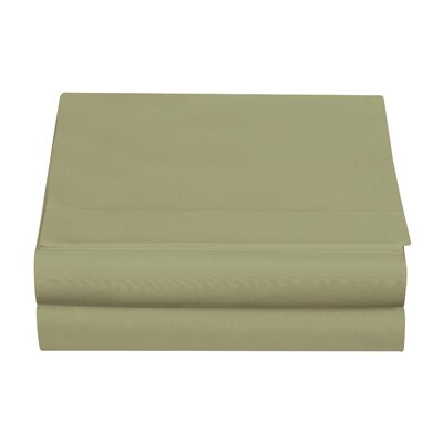 Clarke Fitted Sheet Color: Sage, Size: Twin