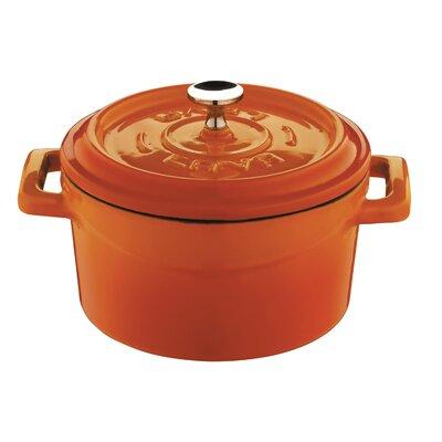 Lava Cookware Signature Cast Iron Round Dutch Oven with Lid - Color: Cobalt Blue, Size: 10.5-qt.