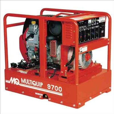 MultiQuip Recoil or Electric Start 9700 Watt Honda GX610 Portable Generator at Sears.com
