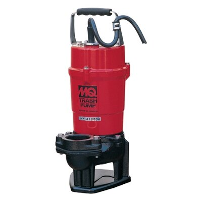 79 GPM Submersible Trash Pumps with Single Phase Motor
