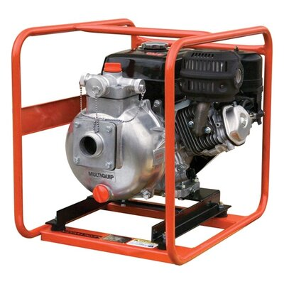 126 GPM Honda GX - 240 High Pressure Pump