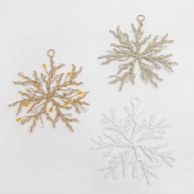 Wire Tree Snowflake Ornaments