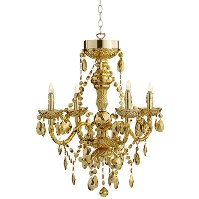 Luxury Jewel 5-Light Crystal Chandelier