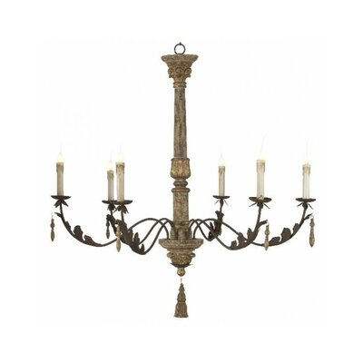 Arielle 6-Light Candle-Style Chandelier