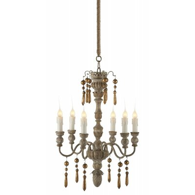 Grenoble 5-Light Candle-Style Chandelier