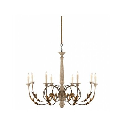 Pauline 8-Light Candle-Style Chandelier