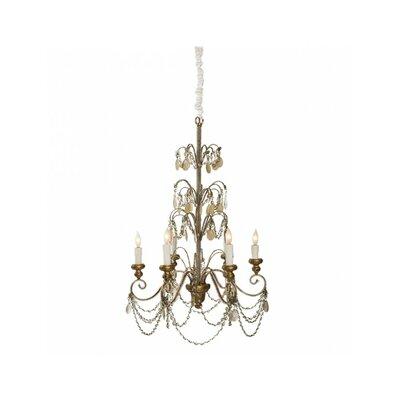 Villa Lantre 6-Light Candle-Style Chandelier