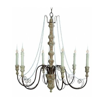 Monceau 6-Light Candle-Style Chandelier