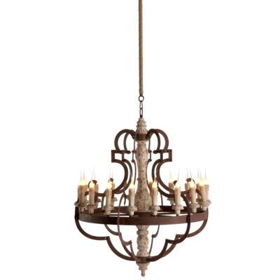 Nurnberg 18-Light Candle-Style Chandelier