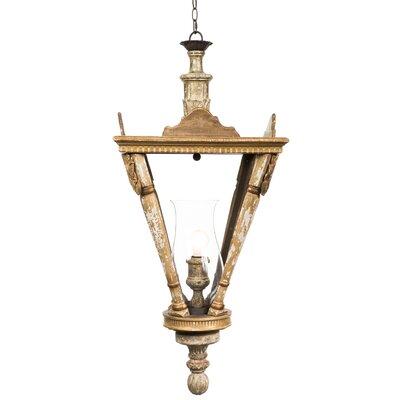 French Lantern 1-Light Pendant