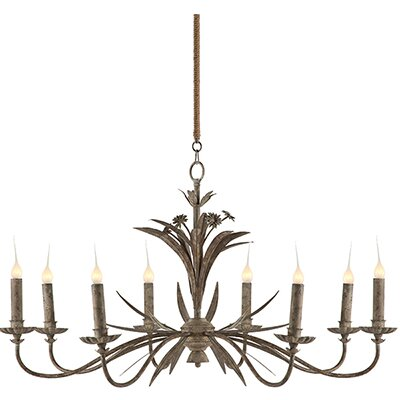 Florence 8-Light Candle-Style Chandelier