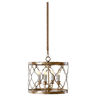 Adella 4-Light Drum Pendant
