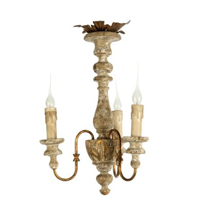 Kora 3-Light Candle-Style Chandelier