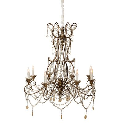The JL Grace 8-Light Crystal Chandelier