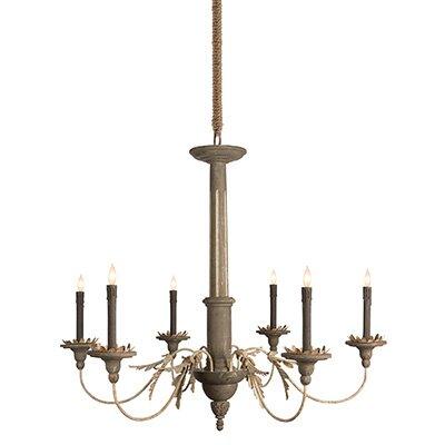 Landini 6-Light Candle-Style Chandelier Size: 28.5 H x 33.5 W x 33.5 D