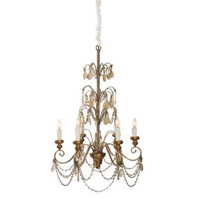 Villa Lantre 6-Light Candle-Style Chandelier