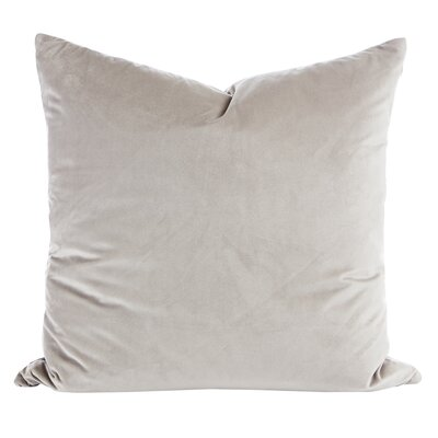 Argent Throw Pillow (Set of 2) Color: Silver