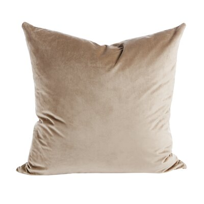 Old Fashion Throw Pillow (Set of 2) Color: Beige