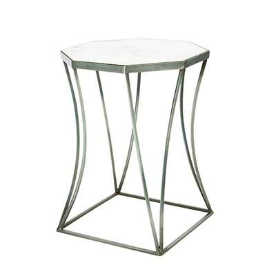 Cuadrado End Table Table Base Color: Bare Steel