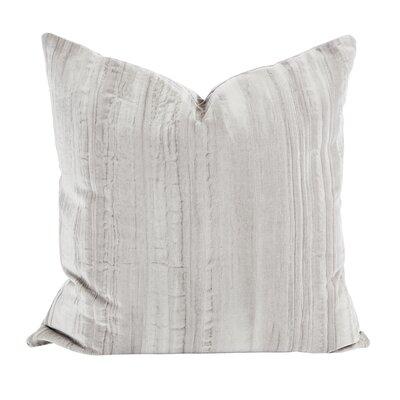 Smoky Velvet Throw Pillow (Set of 2) Color: Gray