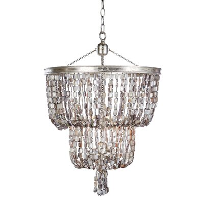 Blu Opal Two Tier Crystal Chandelier