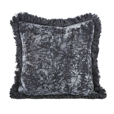Hampton Velvet Throw Pillow (Set of 2)