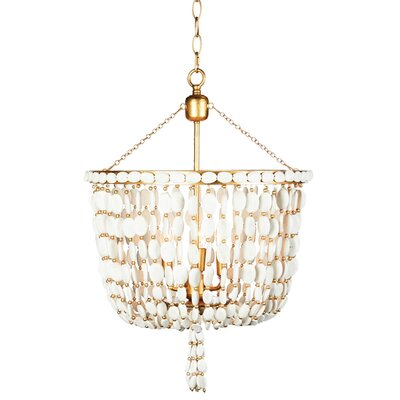 Sea Foam Mini Chandelier