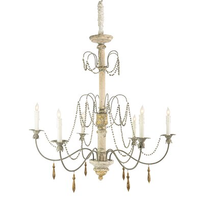 Bretenoux Candle-Style Chandelier