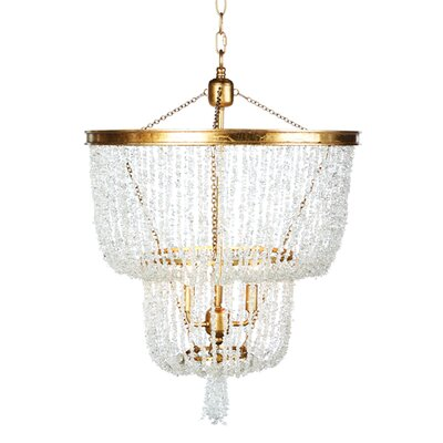 Stone River Two Tier Crystal Chandelier