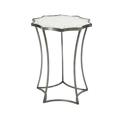 Astre End Table Table Base Color: Bare Steel