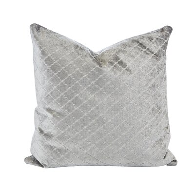 Argent Velvet Throw Pillow (Set of 2)