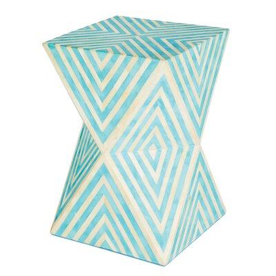 Argyle End Table Color: Bay Blue
