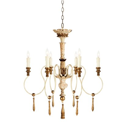 Bonnelles 6-Light Candle-Style Chandelier