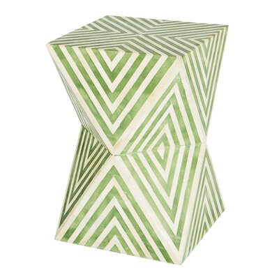 Argyle End Table Color: Pale Jade