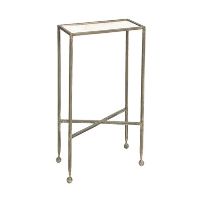 Chino Tray Table Table Base Color: Burnt Zinc