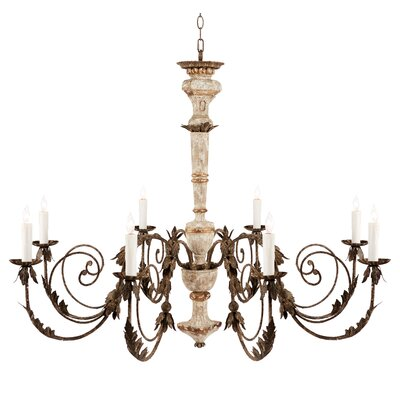 Massy 8-Light Candle-Style Chandelier