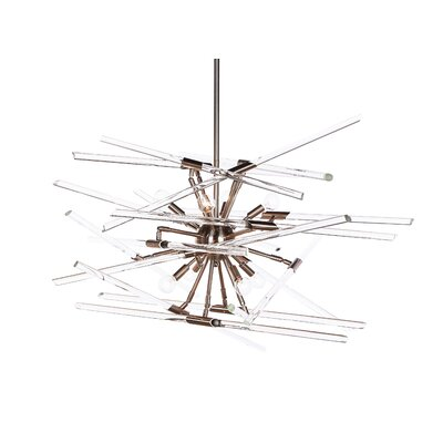 Metal Sputnik Chandelier