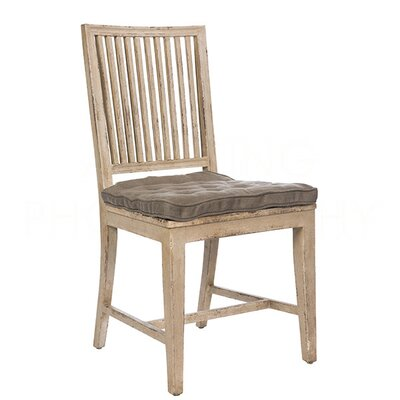 Staffan Dining Chair (Set of 2) Color: Gray