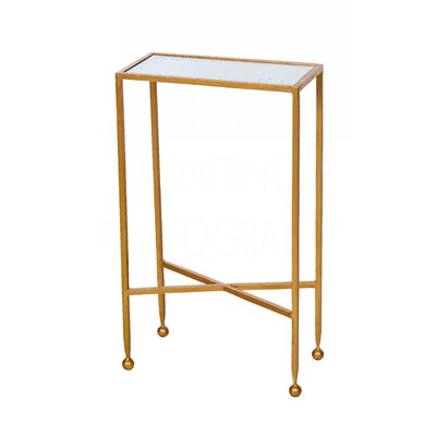Chino Tray Table Table Base Color: Gold Leaf