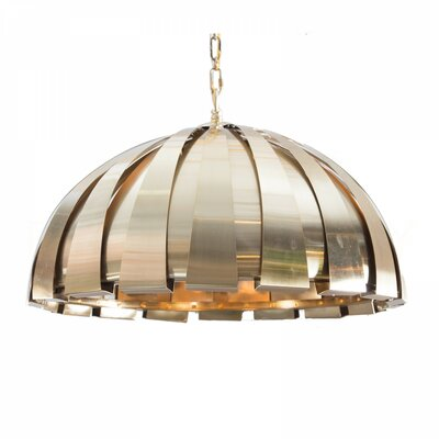 Modern Mini Chandelier Finish: Antique Brass