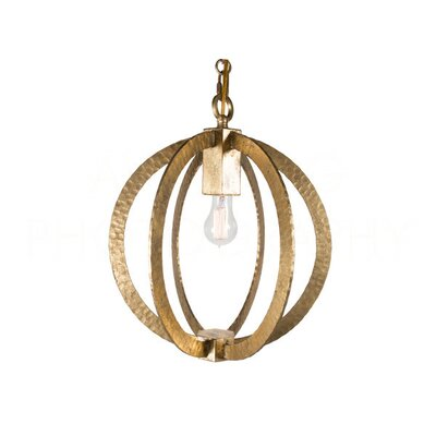 Chan Geo 1-Light Globe Pendant