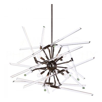 Solitude Sputnik Chandelier Finish: Black